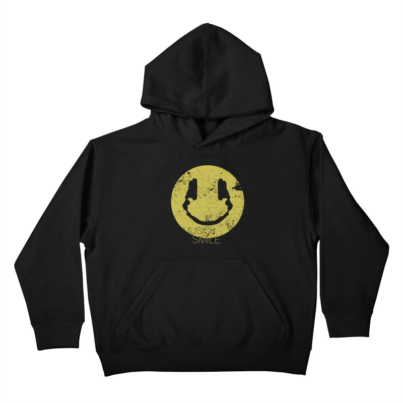 Music Smile Kids Pullover Hoody by Sitchko