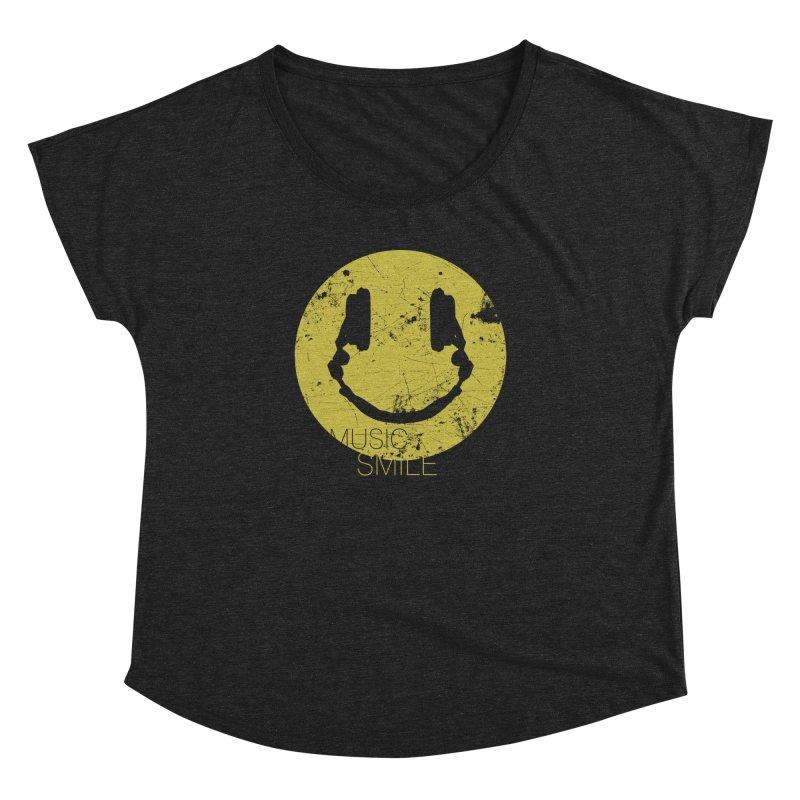 Music Smile Women's Dolman by Sitchko