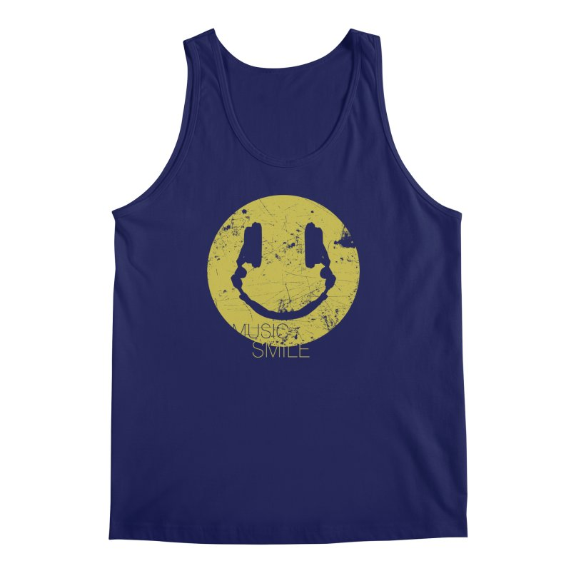 Music Smile Men's Tank by Sitchko