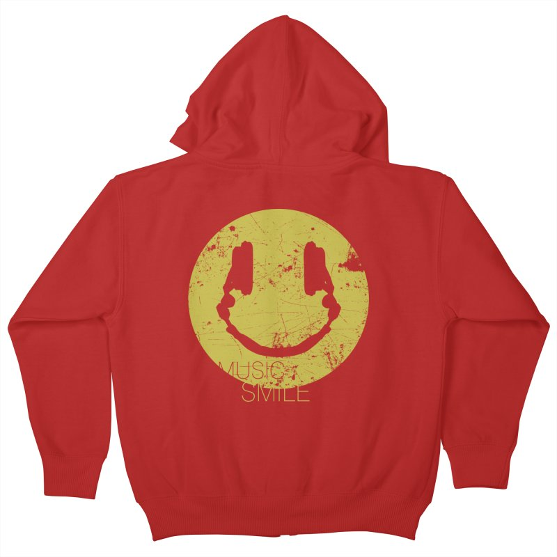 Music Smile Kids Zip-Up Hoody by Sitchko