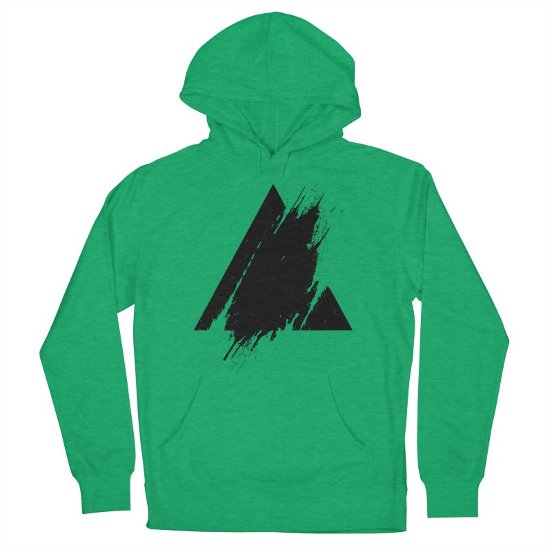 PLACE Splashed Triangle Men's Pullover Hoody by Sitchko