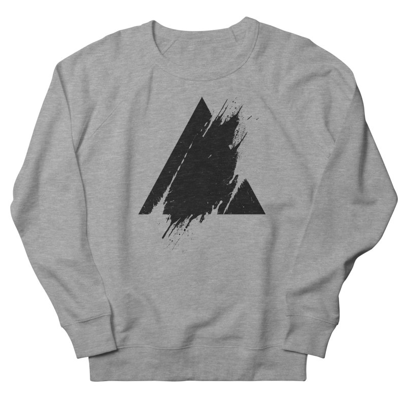 PLACE Splashed Triangle Women's Sweatshirt by Sitchko