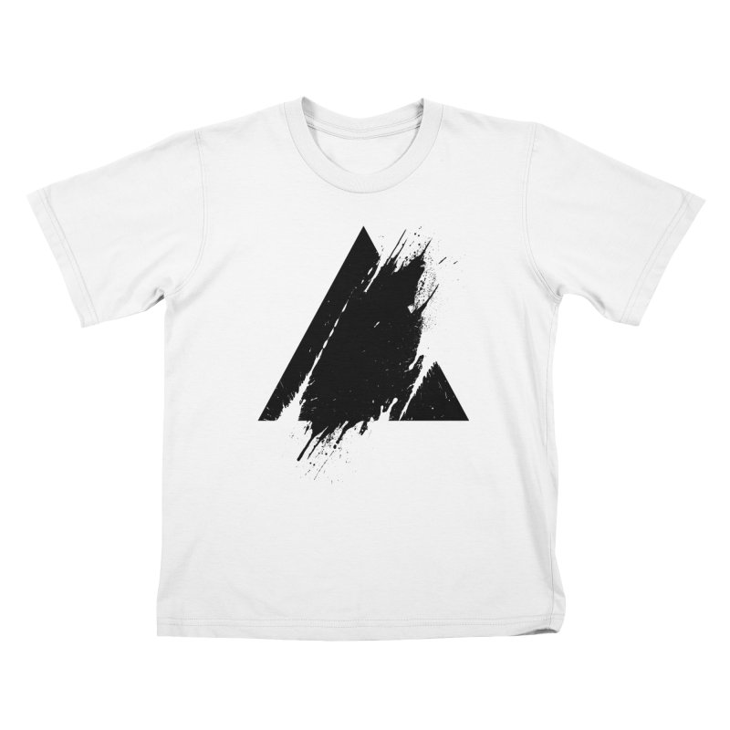 PLACE Splashed Triangle Kids T-shirt by Sitchko