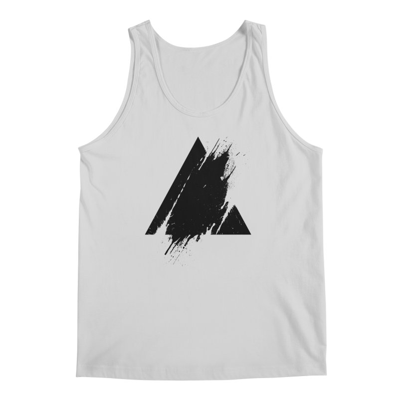 PLACE Splashed Triangle Men's Tank by Sitchko