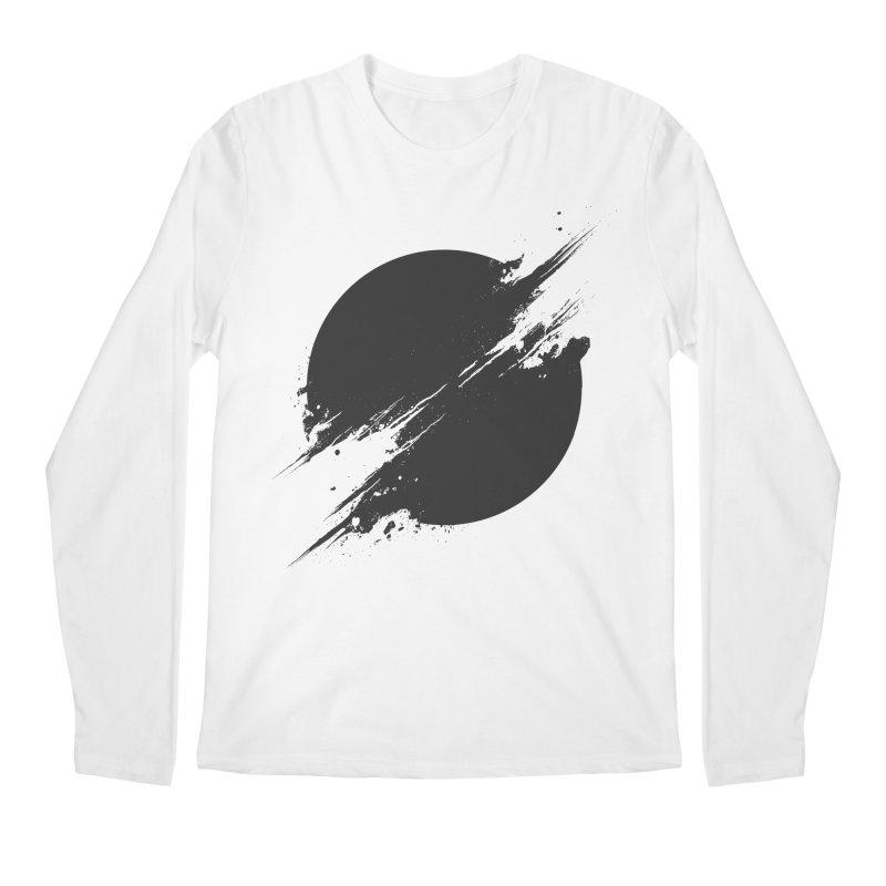 The Sun is Black Men's Longsleeve T-Shirt by Sitchko
