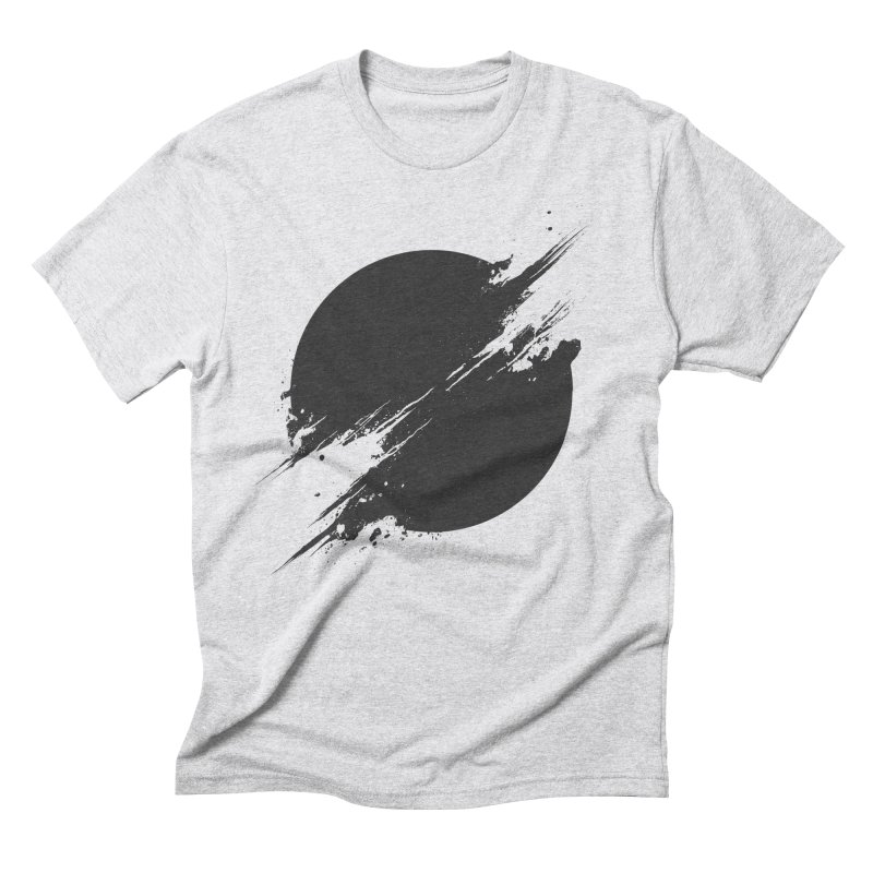 The Sun is Black Men's Triblend T-shirt by Sitchko