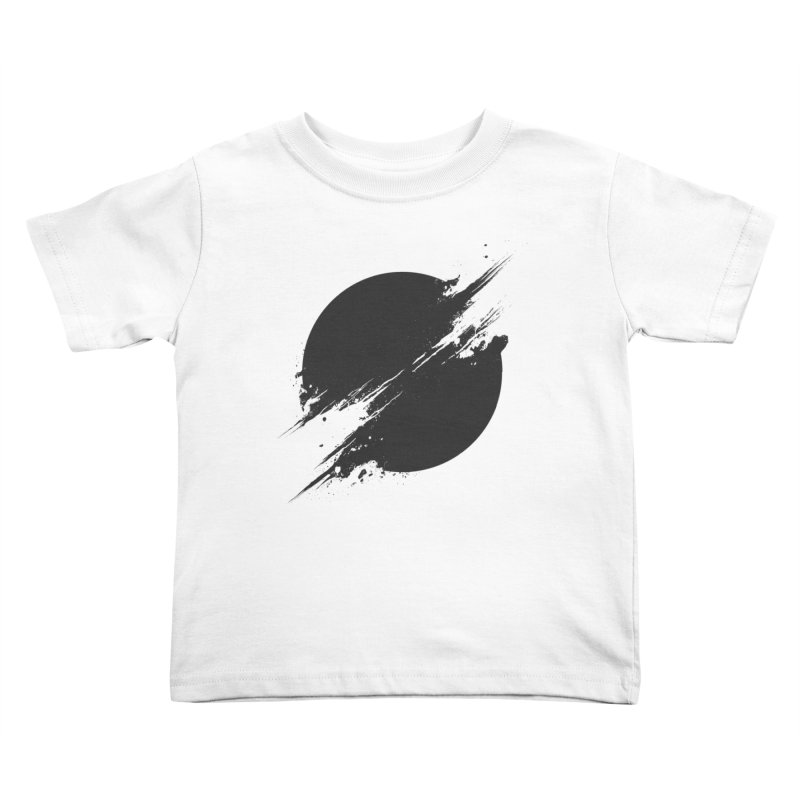 The Sun is Black Kids Toddler T-Shirt by Sitchko