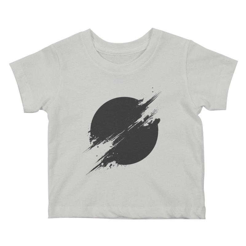The Sun is Black Kids Baby T-Shirt by Sitchko