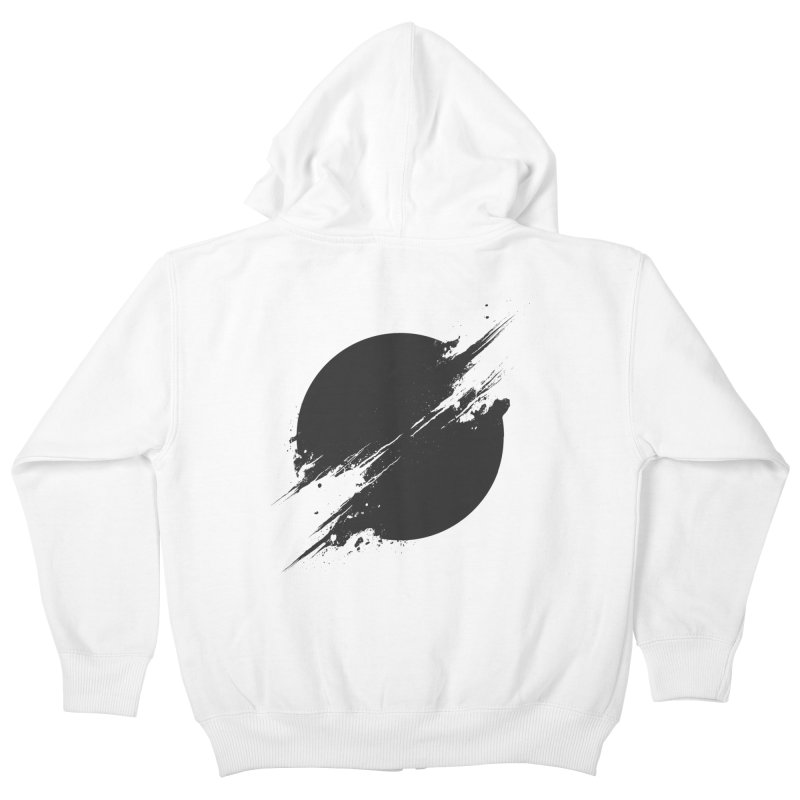 The Sun is Black Kids Zip-Up Hoody by Sitchko