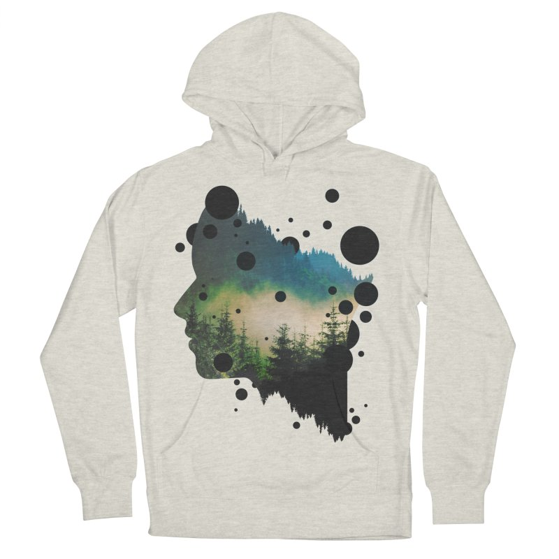 Face Of the Forest Men's Pullover Hoody by Sitchko