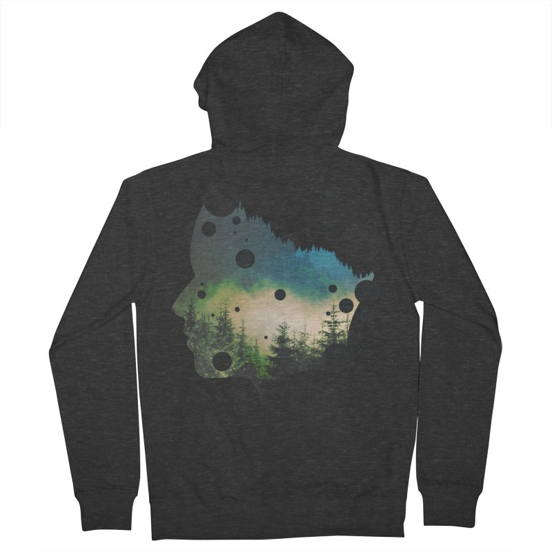 Face Of the Forest Women's Zip-Up Hoody by Sitchko
