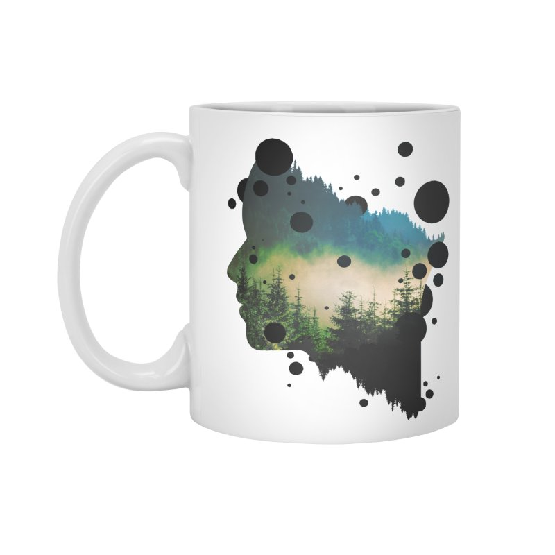 Face Of the Forest Accessories Mug by Sitchko