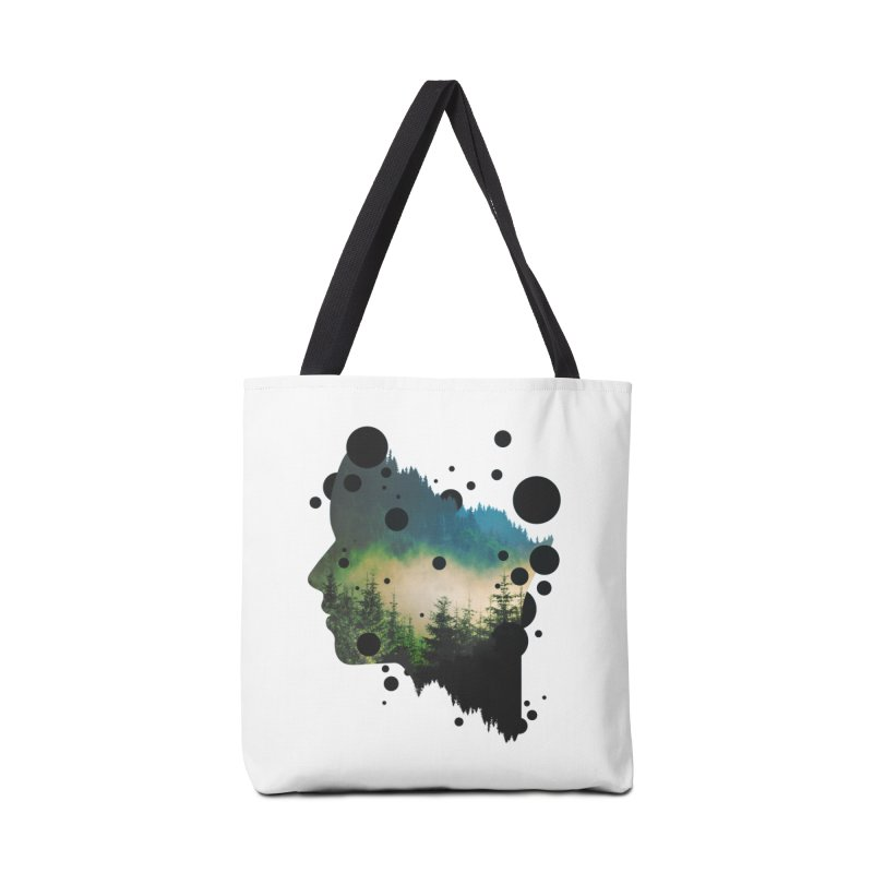 Face Of the Forest Accessories Bag by Sitchko