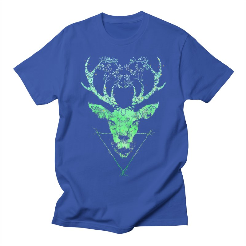 Dark Forest Deer Women's Unisex T-Shirt by Sitchko
