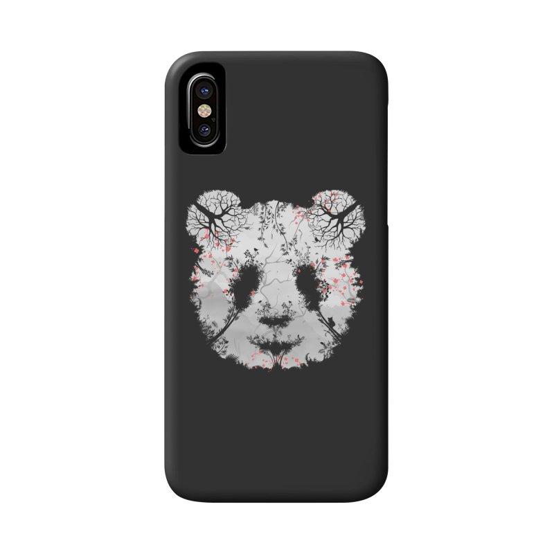 Dark Forest Panda Accessories Phone Case by Sitchko