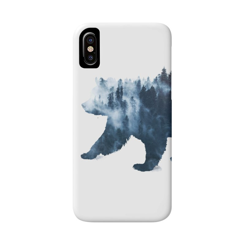 Nature Bear Accessories Phone Case by Sitchko