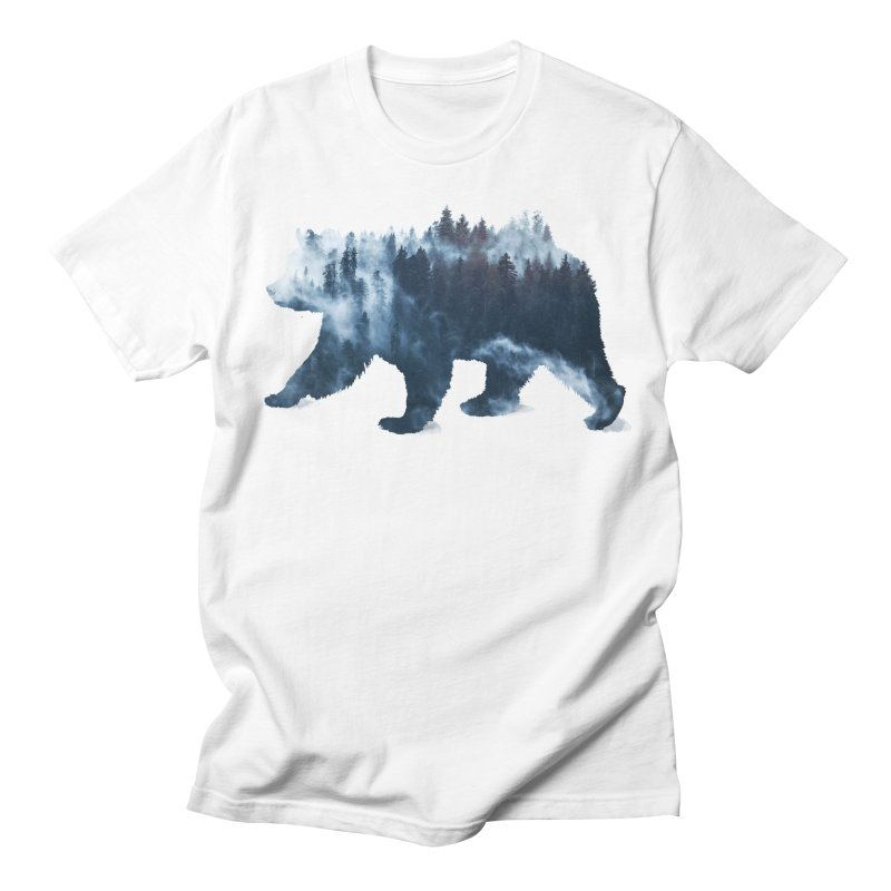 Nature Bear Women's Regular Unisex T-Shirt by Sitchko