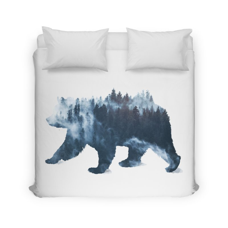 Nature Bear Home Duvet by Sitchko