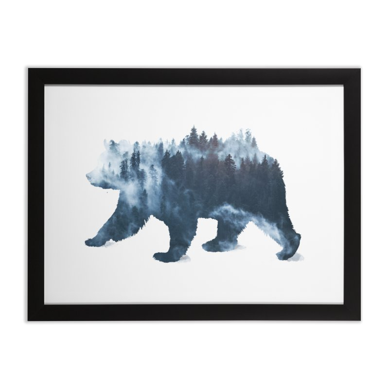 Nature Bear Home Framed Fine Art Print by Sitchko