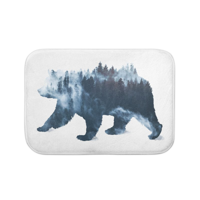 Nature Bear Home Bath Mat by Sitchko