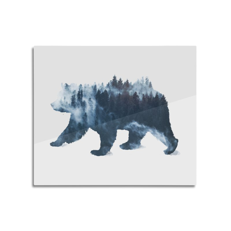 Nature Bear Home Mounted Acrylic Print by Sitchko