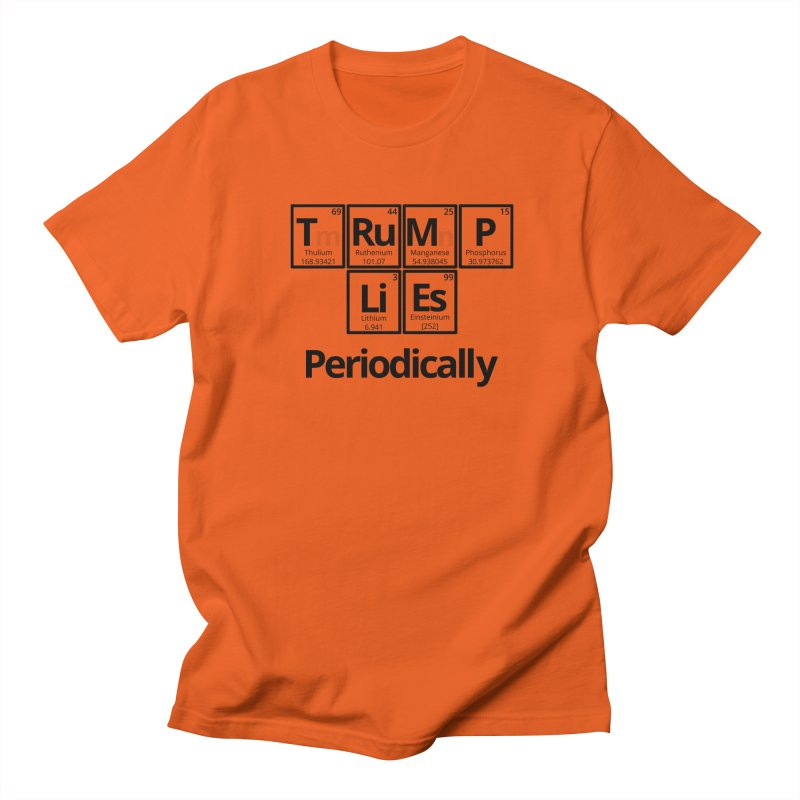 Trump Lies... Periodically Men's T-Shirt by Sixfold Symmetry Shop