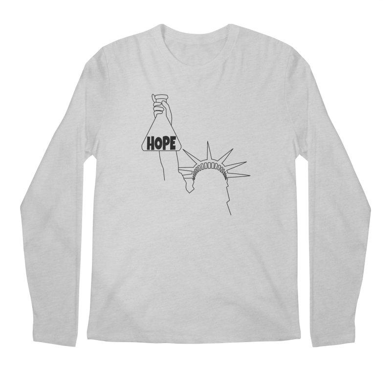 I am a Beaker of Hope Men's Regular Longsleeve T-Shirt by Sixfold Symmetry Shop