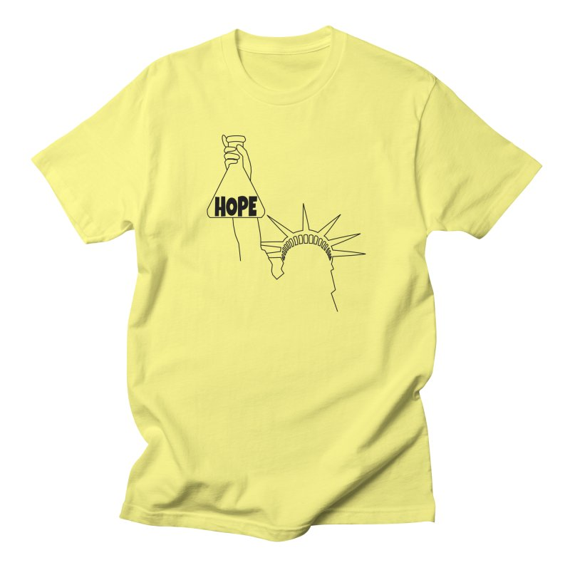 I am a Beaker of Hope Women's Regular Unisex T-Shirt by Sixfold Symmetry Shop