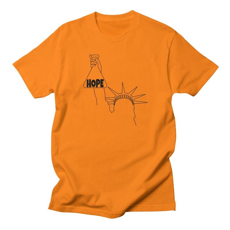 I am a Beaker of Hope Men's Regular T-Shirt by Sixfold Symmetry Shop