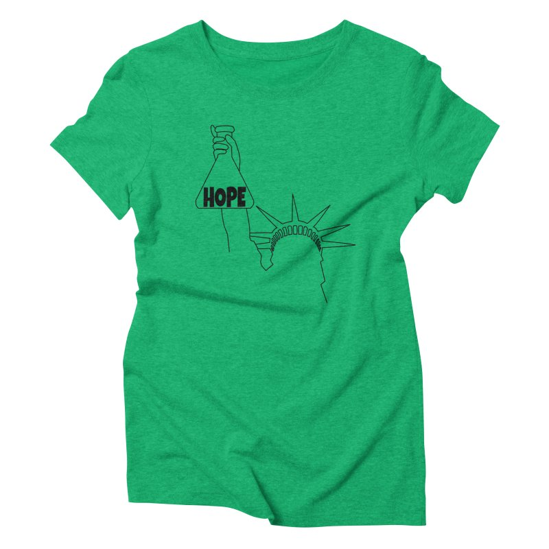 I am a Beaker of Hope Women's Triblend T-Shirt by Sixfold Symmetry Shop