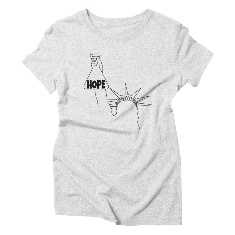 I am a Beaker of Hope Women's Triblend T-Shirt by Sixfold Symmetry Shop