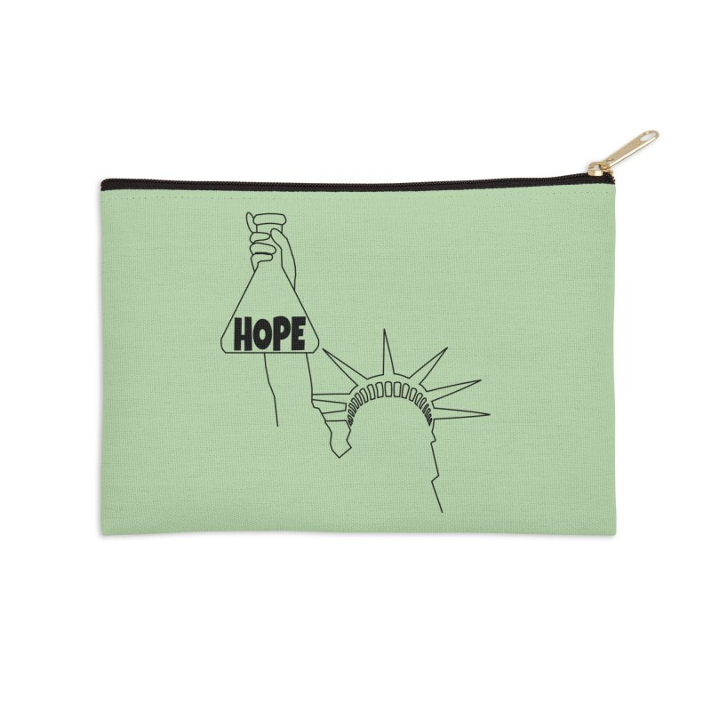 I am a Beaker of Hope Accessories Zip Pouch by Sixfold Symmetry Shop