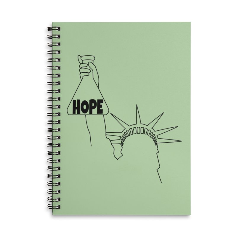 I am a Beaker of Hope Accessories Notebook by Sixfold Symmetry Shop