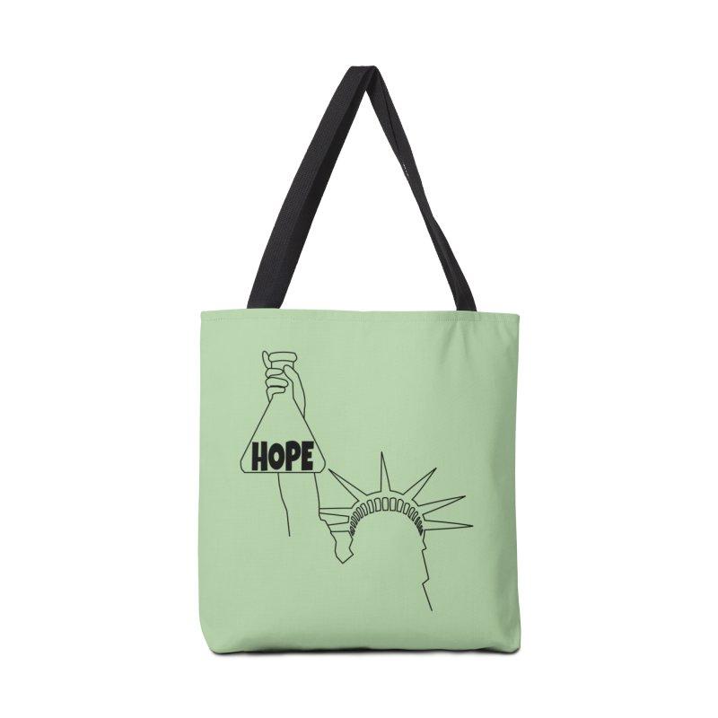 I am a Beaker of Hope Accessories Tote Bag Bag by Sixfold Symmetry Shop