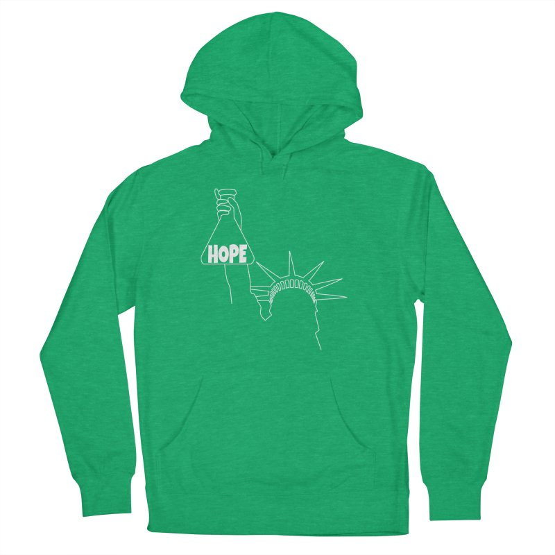 I am a Beaker of Hope Women's French Terry Pullover Hoody by Sixfold Symmetry Shop
