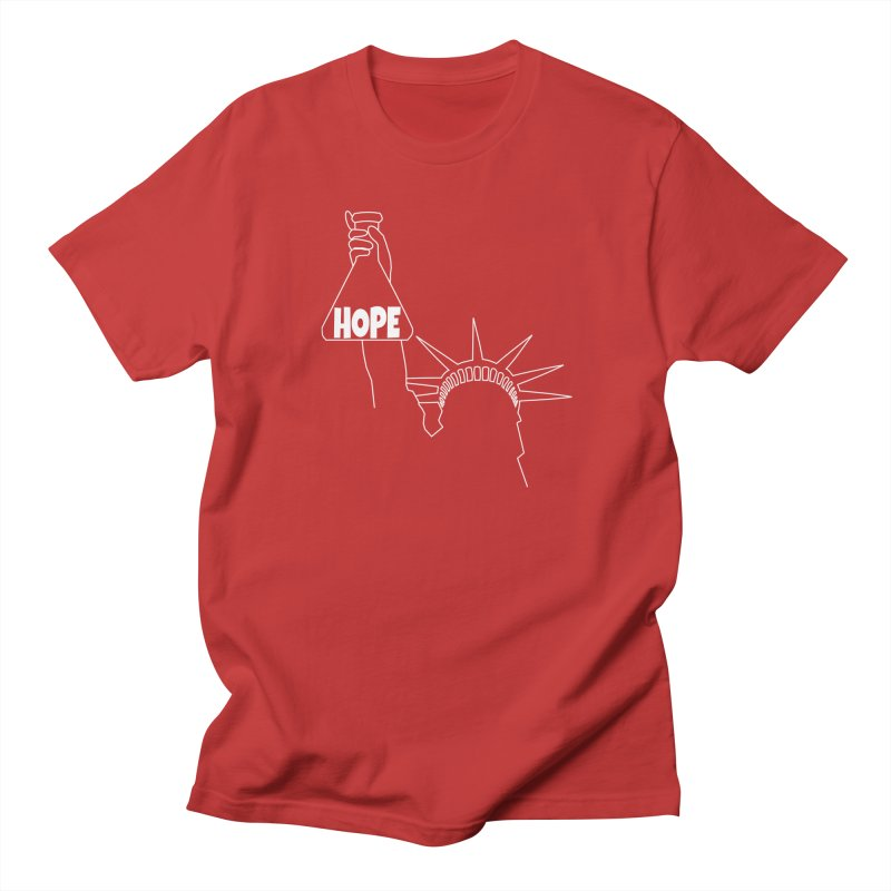 I am a Beaker of Hope Women's Regular Unisex T-Shirt by Sixfold Symmetry Shop