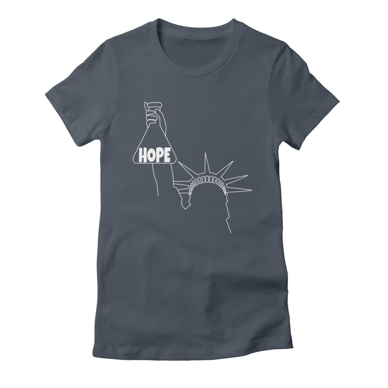 I am a Beaker of Hope Women's Fitted T-Shirt by Sixfold Symmetry Shop