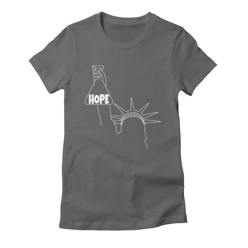 I am a Beaker of Hope Women's Fitted T-Shirt by Sixfold Symmetry Shop