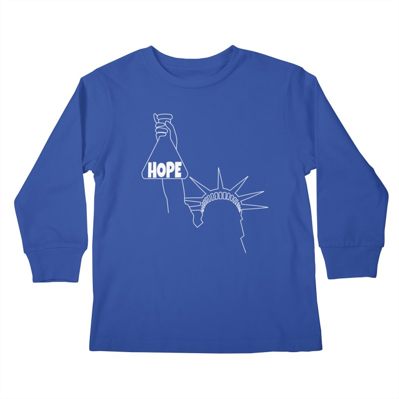 I am a Beaker of Hope Kids Longsleeve T-Shirt by Sixfold Symmetry Shop