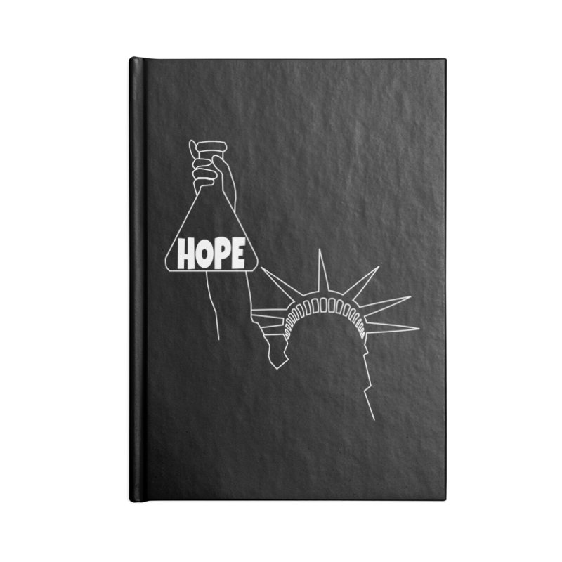 I am a Beaker of Hope Accessories Lined Journal Notebook by Sixfold Symmetry Shop