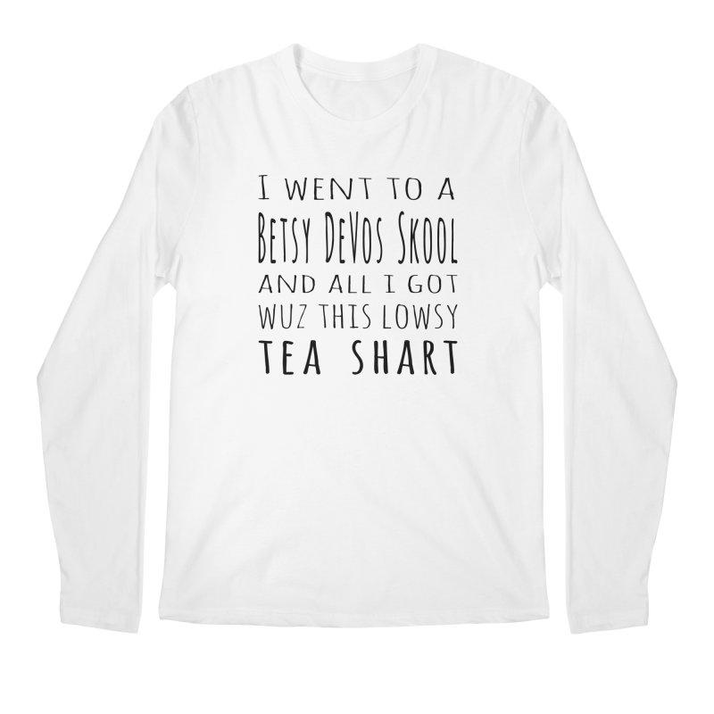 My New Tea Shart Men's Regular Longsleeve T-Shirt by Sixfold Symmetry Shop