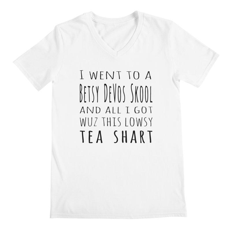 My New Tea Shart Men's Regular V-Neck by Sixfold Symmetry Shop