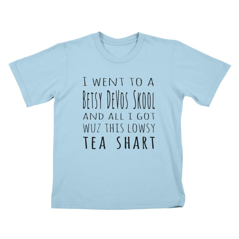 My New Tea Shart Kids T-Shirt by Sixfold Symmetry Shop