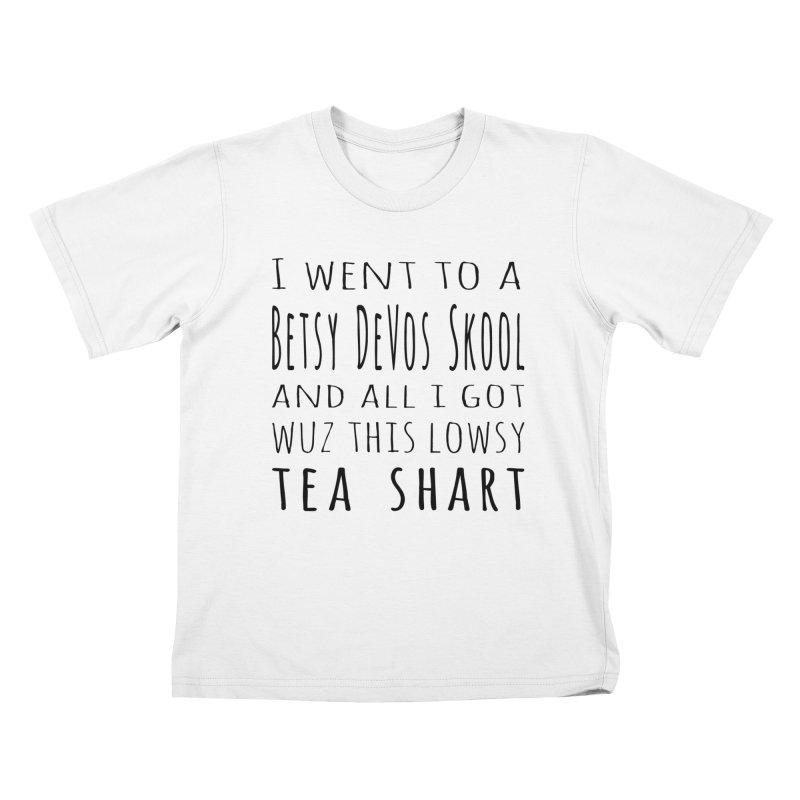 My New Tea Shart Kids T-Shirt by Sixfold Symmetry Shop