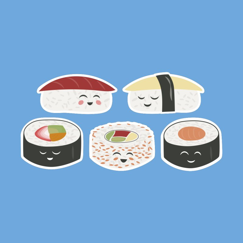 Happy Sushi by Calobee Doodles