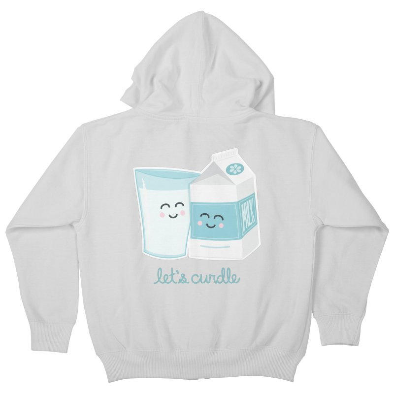Let's Curdle Kids Zip-Up Hoody by Calobee Doodles