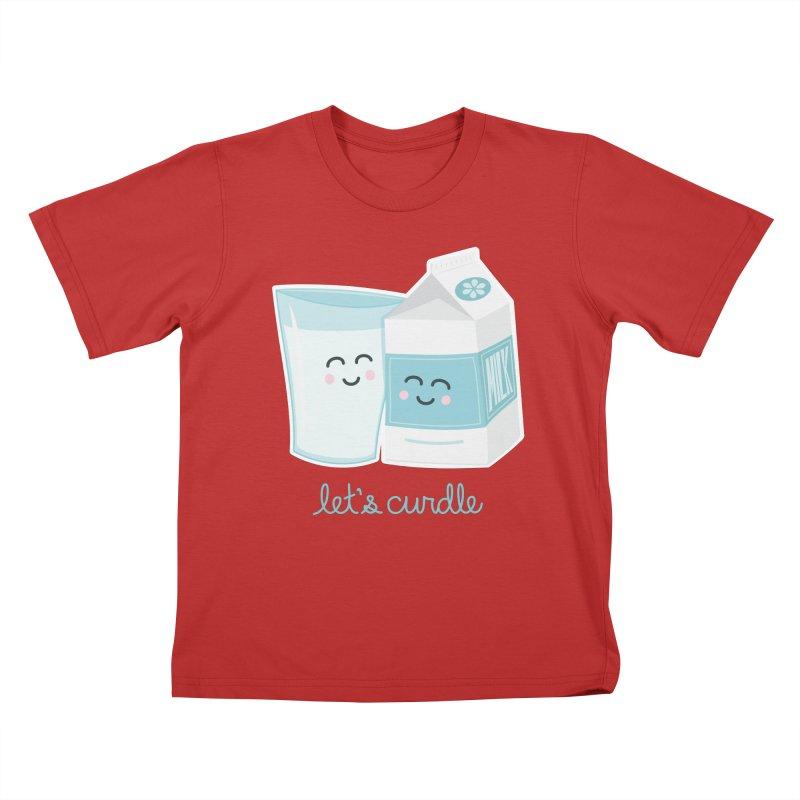 Let's Curdle Kids T-Shirt by Calobee Doodles