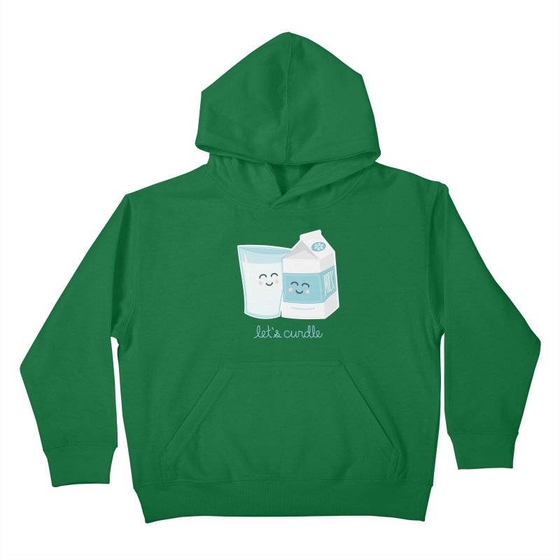 Let's Curdle Kids Pullover Hoody by Calobee Doodles
