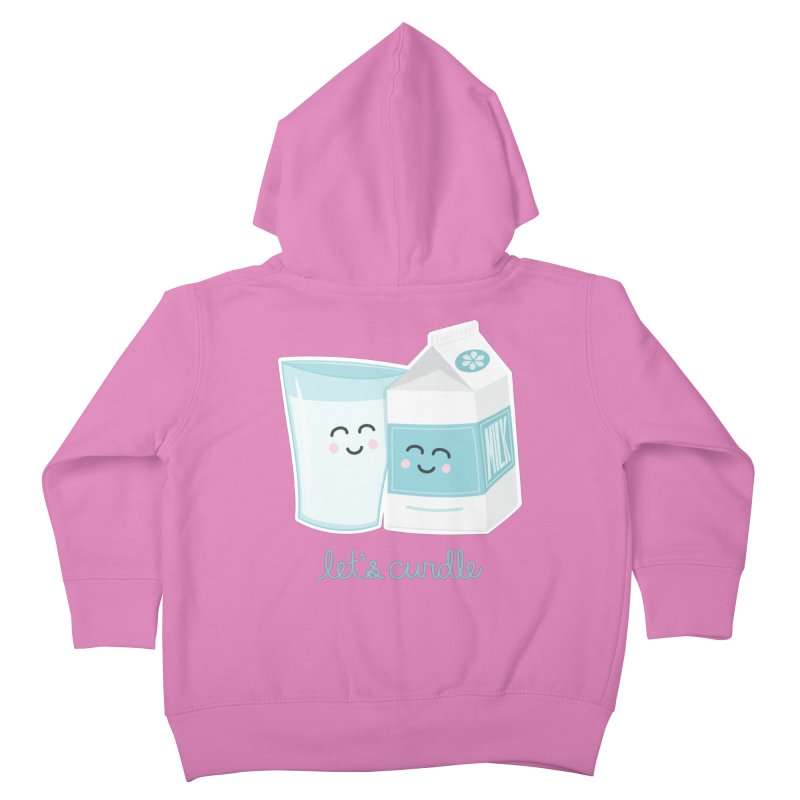 Let's Curdle Kids Toddler Zip-Up Hoody by Calobee Doodles