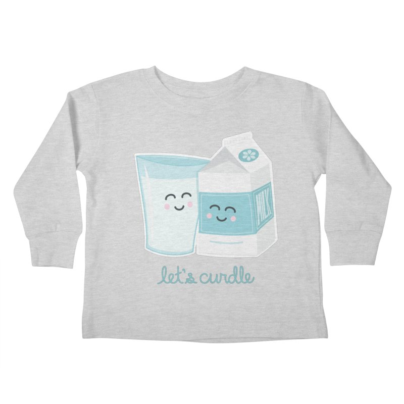 Let's Curdle Kids Toddler Longsleeve T-Shirt by Calobee Doodles